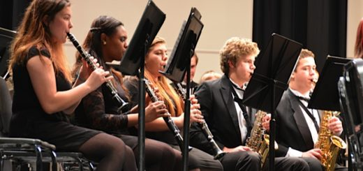 SOme Concert Band musicians
