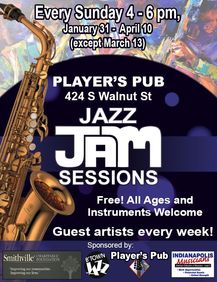 Jam Session Flier 2016