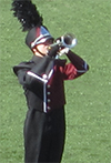 marching band member